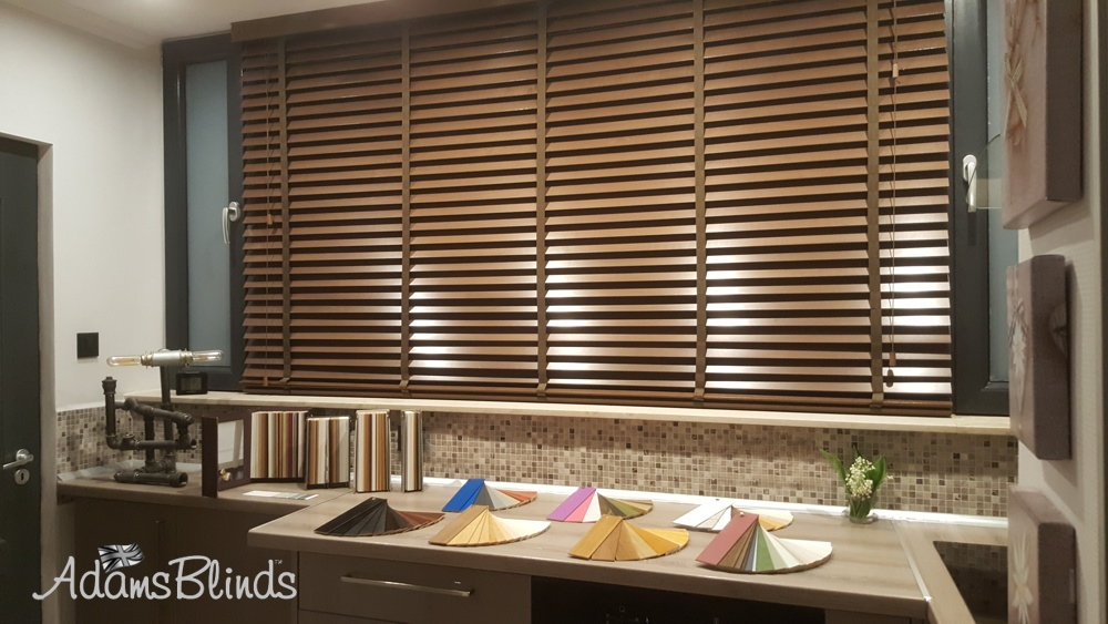 fitted wooden blinds london