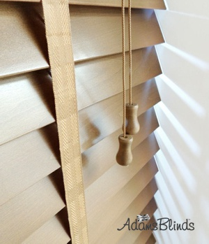 mid_oak_blind_with_ladder_tapes_wooden_blind_fitters_london