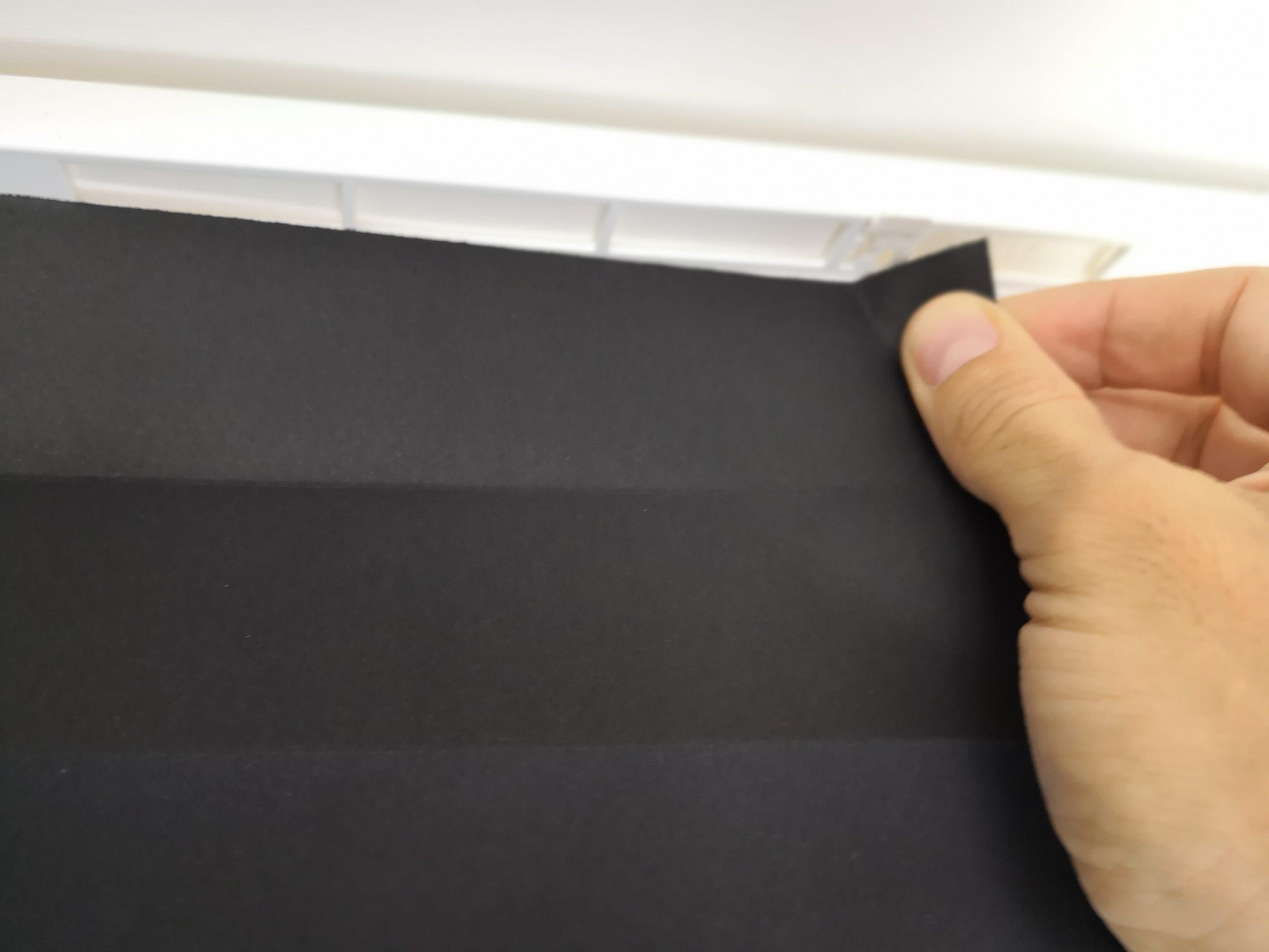 Temporary Window Blinds Installation