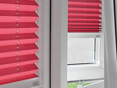 Fitted Intu Pleated Blinds London