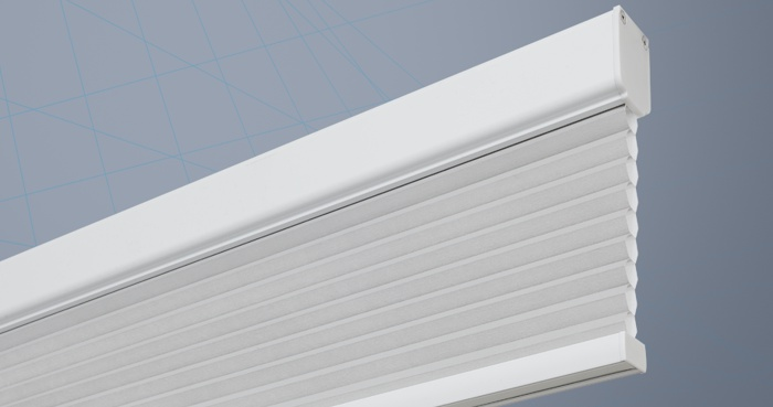 Motorised Electric Cellular Pleated Blinds