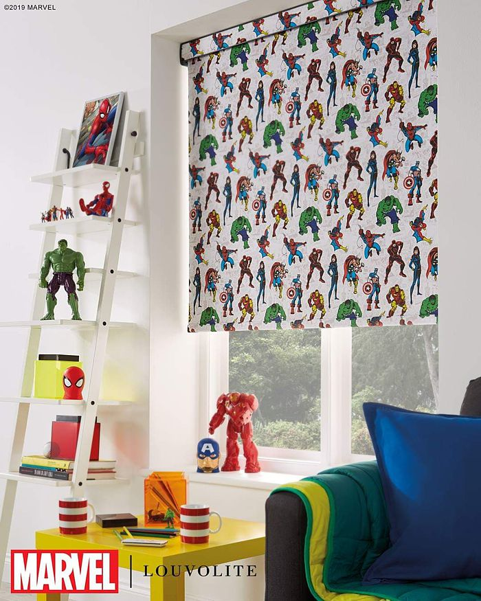 Disney Marvel 1 Roller Blinds London 2