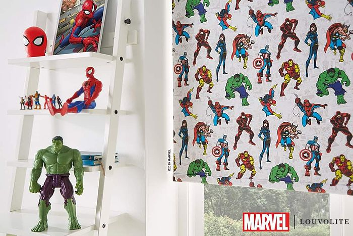Disney Marvel 1 Roller Blinds London 4