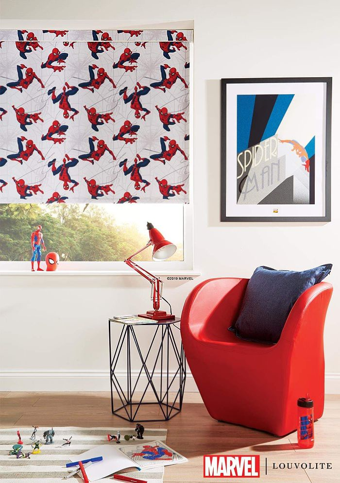 Disney Marvel Spider Man Roller Blinds London 2