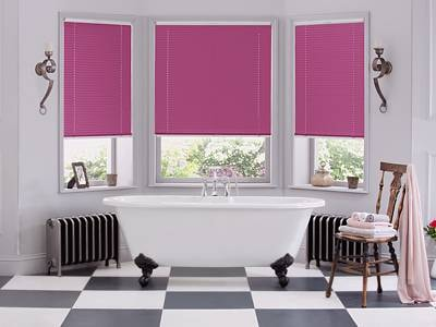 Fitted Bathroom Blinds London