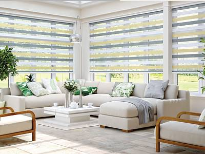 Fitted Conservatory Blinds London
