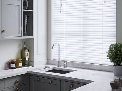 Fitted Faux Wood Blinds London