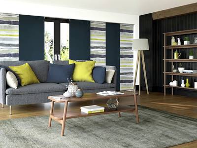 Fitted Living Room Blinds London