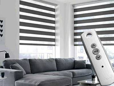 Fitted Motorised Blinds London