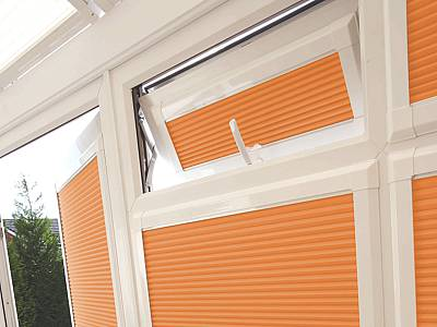 Fitted Perfect Fit Pleated Blinds London