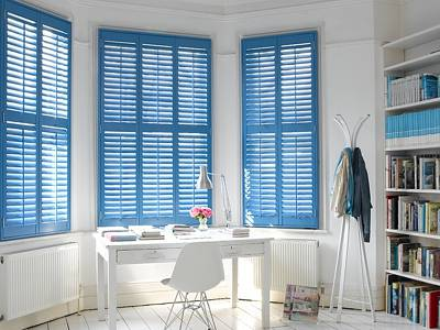 Fitted Plantation Shutters London