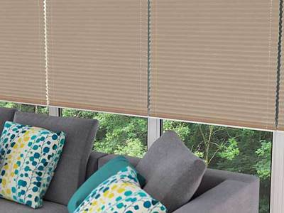 Fitted Pleated Blinds London