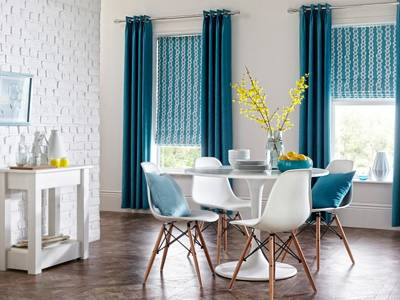 Fitted Roman Blinds London
