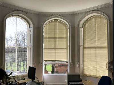 Fitted Shaped Blinds London