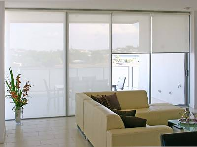 Fitted Sunscreen Blinds London
