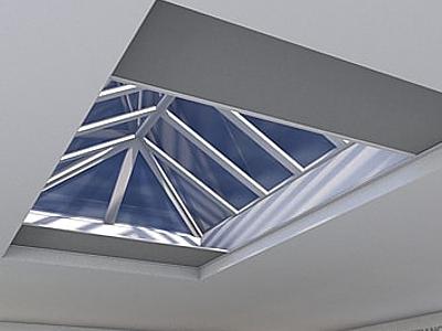 Flat Rooflight Blinds